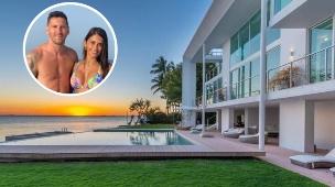 בית במיאמי, מסי (צילום: בית: לוקס האנטרס פרודקטיונס, מסי: אינסטגרם antonelaroccuzzo)