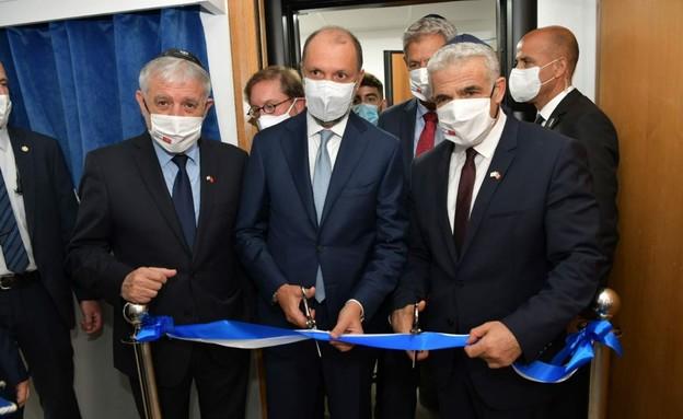 """חניכת הנציגות של מדינת ישראל במרוקו (צילום: שלומי אמסלם, לע""""מ)"""