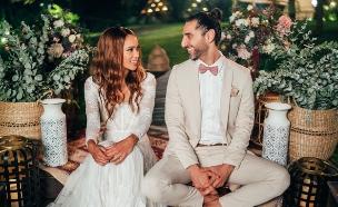 """הדס שוורץ ושי יעקובוביץ' 9 (צילום: לירון סער, מתוך """"חתונה ממבט ראשון"""")"""