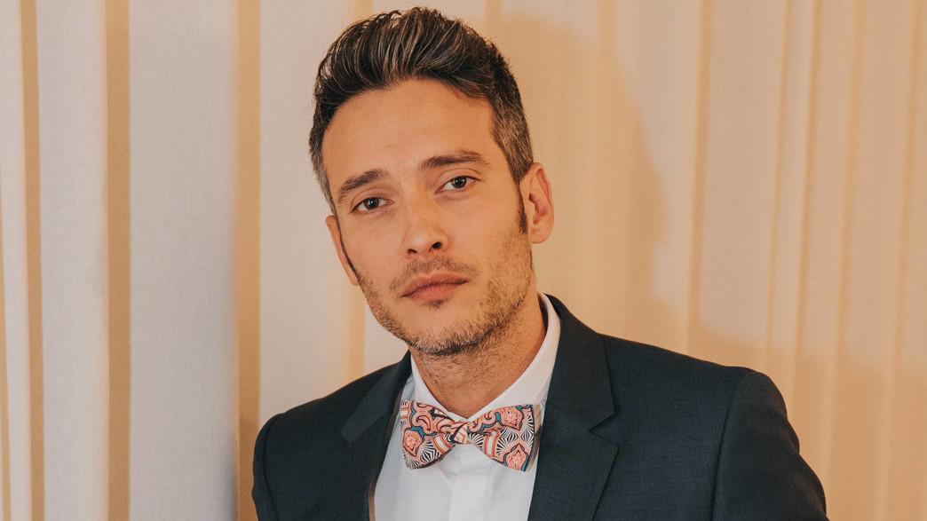 Emmanuel Cohen, candidat franco-israélien de l'émission télévision israélienne mariés au premier regard