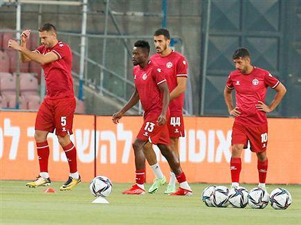 השחקנים במרכזיים יישמרו לחמישי (אלן שיבר) (צילום: ספורט 5)