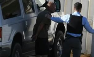 ריצ'ארד קר נעצר (צילום: עמוד ה-youtube של ABC7)