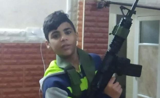 עימאד חשש בן 17 ממחנה הפליטים בלאטה