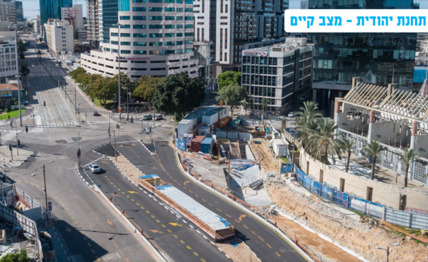 פרויקט שידרת הקריה תל אביב-יפו (צילום: עיריית תל אביב יפו)