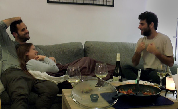 קארין, איתמר ומתן  (צילום: מתוך חתונה ממבט ראשון , קשת 12)