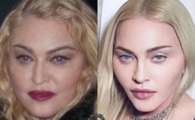 Madonna's Instagram in the face of reality