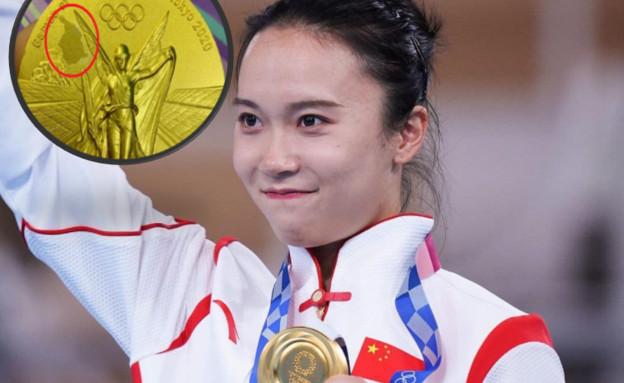 מדליית זהב (צילום: אינסטגרם\olympianses)
