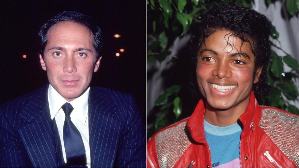 מייקל ג'קסון ופול אנקה (צילום: Getty Images: Photo by Frank Edwards/Fotos International | Gary Gershoff)