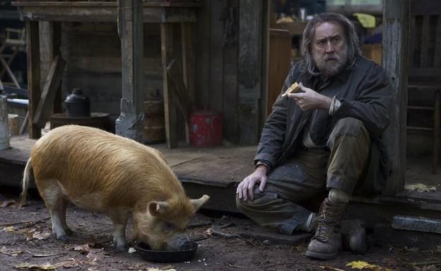 """ניקולס קייג', """"Pig"""" (צילום: Neon)"""