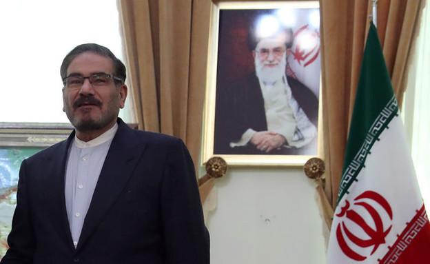 עלי שמח'אני, מזכיר המועצה לביטחון לאומי באירן (צילום: reuters)