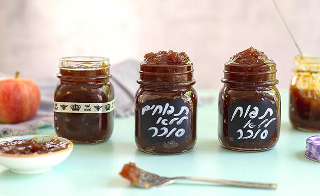 ריבת תפוחים ללא תוספת סוכר (צילום: רויטל פדרבוש, אוכל טוב)