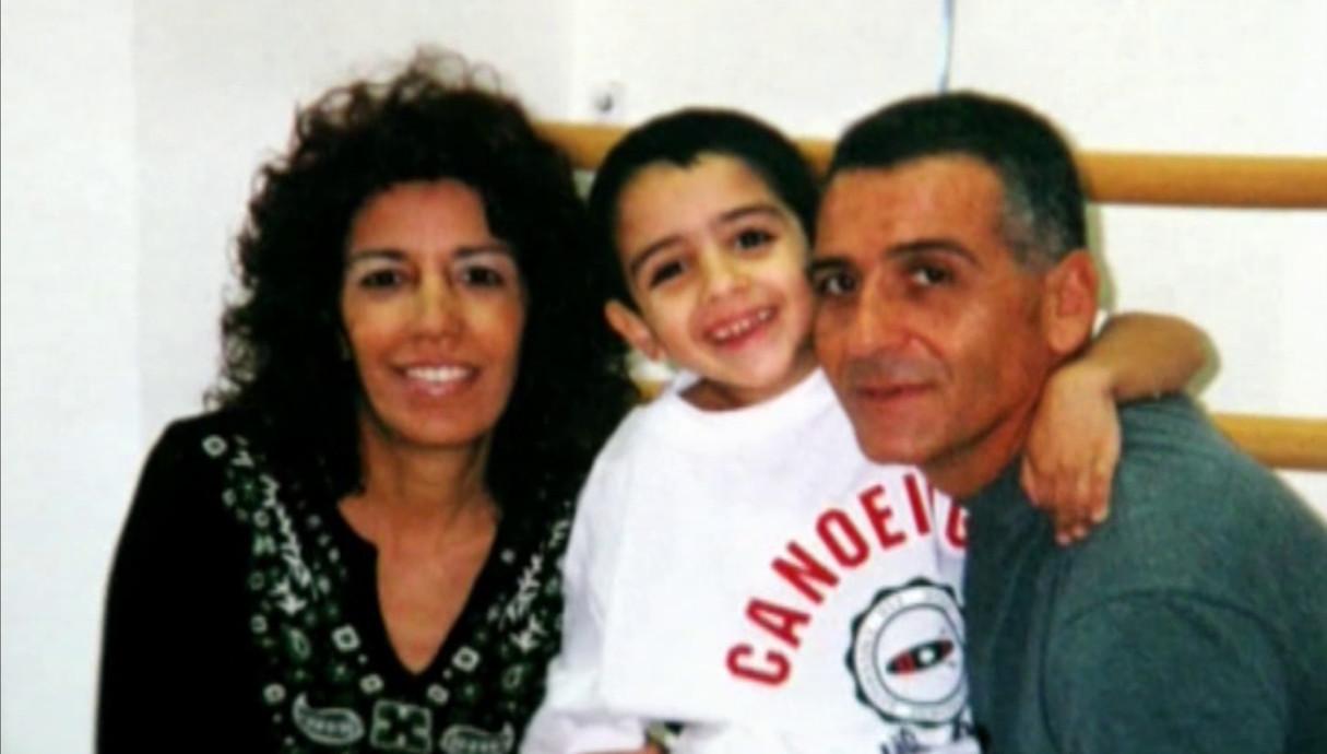 תמיר גרינברג עם המשפחה