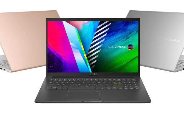 VivoBook 15 K513 מסך OLED של ASUS  (צילום: ASUS)