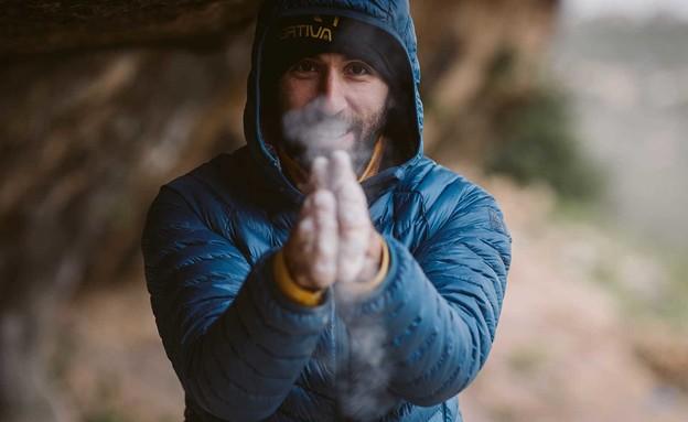 מור ספיר מטפס (צילום: סטיס ואן סלוטן)