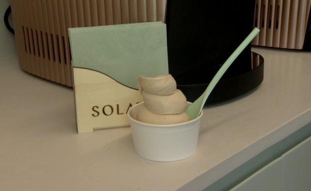 הפיתוח שיאפשר לכם להכין גלידה בעצמכם (צילום: N12)