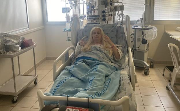Miri Aloni's leg was amputated
