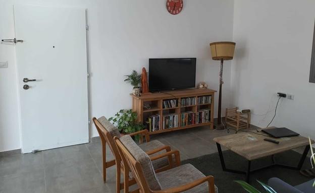דירה בחריש, עיצוב מירב רוטשס קורן וליאת בנימיני, לפני שיפוץ - 2 (צילום: מירב רוטשס קורן וליאת בנימיני)