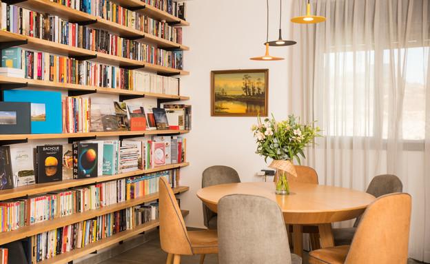 דירה בחריש, עיצוב מירב רוטשס קורן וליאת בנימיני - 1 (צילום: נימרוד כהן)