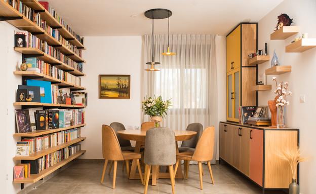 דירה בחריש, עיצוב מירב רוטשס קורן וליאת בנימיני - 2 (צילום: נימרוד כהן)
