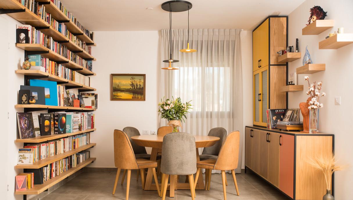 דירה בחריש, עיצוב מירב רוטשס קורן וליאת בנימיני - 2