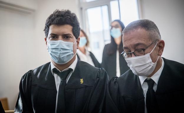 בועז בן צור ועמית חדד (צילום: Yonatan SindelFlash90)