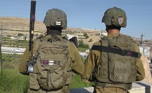 """הפיגוע שסיכלו הלוחמים (צילום: דובר צה""""ל )"""