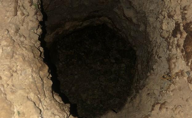 כלא גלבוע. המנהרה ששימשה את האסירים למילוט
