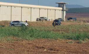 בחיפושים אחר ששת האסירים, כלא גלבוע  (צילום: החדשות 12)