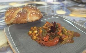 דג מרוקאי (צילום: אמהות מבשלות ביחד, ערוץ 24 החדש)
