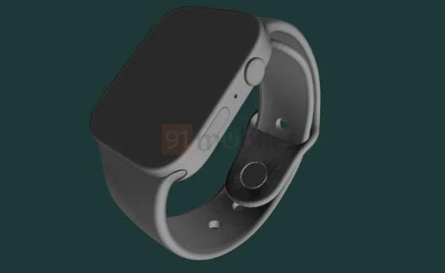 Apple Watch Series 7, הדמיה (צילום: MacRumors@, youtube)