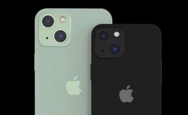 אייפון 13, הדמייה (צילום: @ iphone13news, instagram)