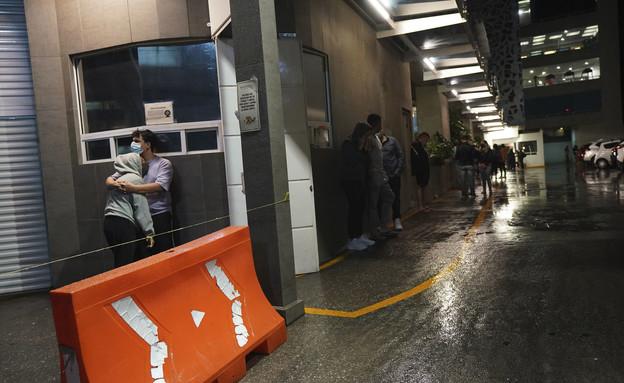 רעידת האדמה במקסיקו: לפחות אדם אחד נהרג (צילום: AP)