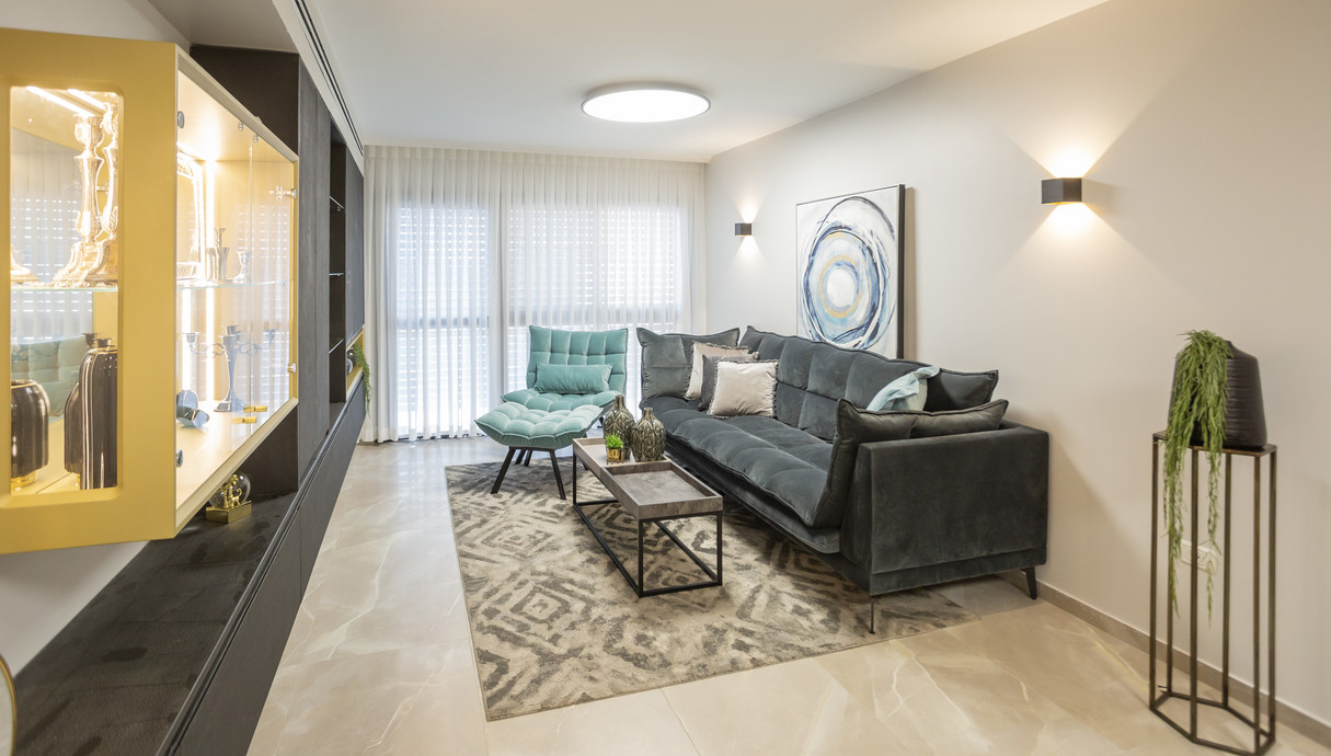 דירה בלוד, עיצוב מינדי ויזל - 3