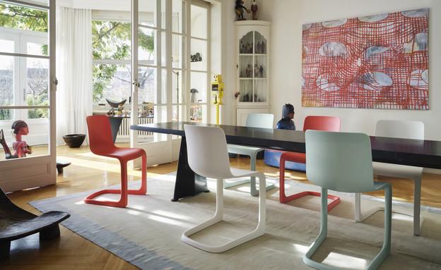 קולקציות לבית סתיו 21, כיסא בעיצוב ג'ספר מוריסון, הביטאט (צילום: מארק אגימן EVO-C VITRA)