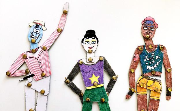 """אירועי סוכות במוזיאון הישראלי לקריקטורה (צילום: יח""""צ)"""