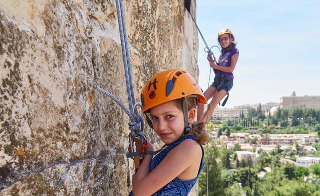 """אירועי סוכות בטיילת החומות ירושלים (צילום: יח""""צ פמי)"""