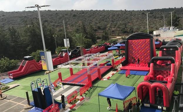 """אירועי סוכות בכפר הנוקדים (צילום: יח""""צ)"""