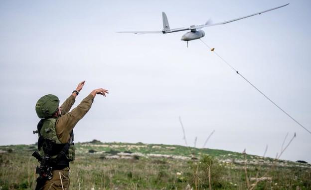 """הלוחמים בפעולה (צילום: דובר צה""""ל )"""