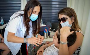 חיסוני שפעת בישראל (צילום: אבשלום שושני, פלאש 90)