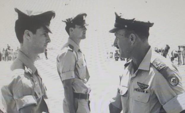 אהרון ברנזון בתקופת הצבא