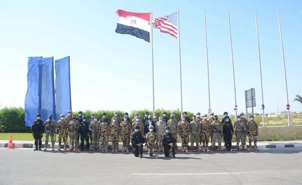 תרגיל, מצרים (צילום: צבא מצרים)
