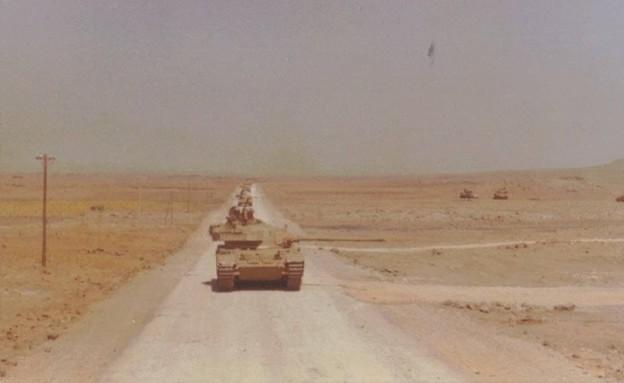 רמת הגולן במלחמת יום כיפור (צילום: דני אליאב)