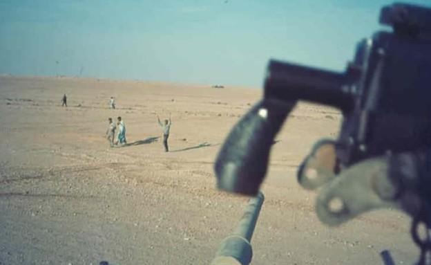 סיני במלחמת יום הכיפורים (צילום: יעקב חורין)