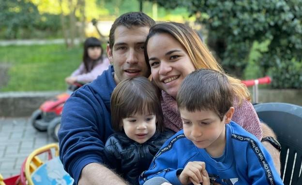 """עמית בירן ואשתו טל ז""""ל (צילום: באדיבות המשפחה)"""