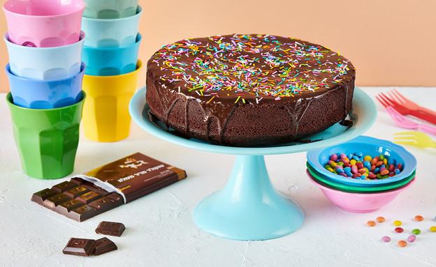 עוגת שוקולד ללא אלרגנים (צילום: טל סיון ציפורין)