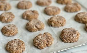 עוגיות קינמון  (צילום: רותם ליברזון, אוכל טוב)