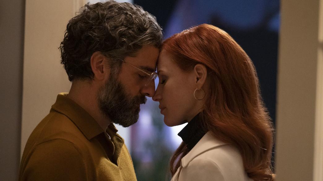 """ג'סיקה צ'סטיין, אוסקר אייזק, """"תמונות מחיי נישואין"""" (צילום: Jojo Whilden/HBO, באדיבות yes ,HOT וסלקום tv, יחסי ציבור)"""