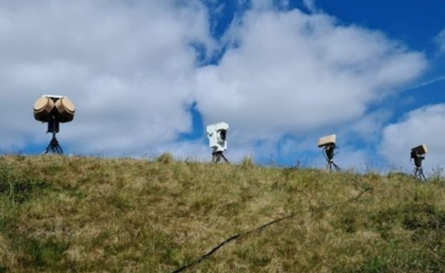 Drone Dome - לחימה ברחפנים (צילום: רפאל)