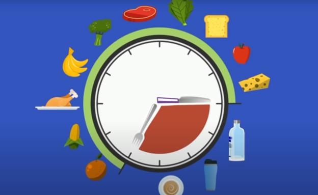 דיאטת צום (צילום: צילום מסך youtube)