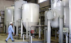 המפעל למים כבדים באראק, אירן (צילום: רויטרס, חדשות)